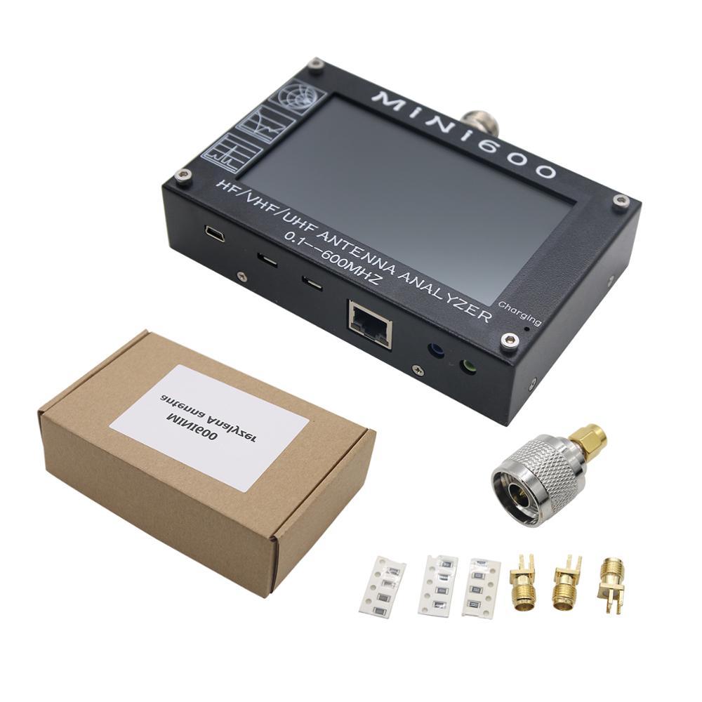NEW Mini600 0.1-600mhz HF//VHF//UHF Contiunou Coverage Antenna Analyzer Capacitive