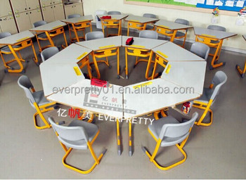 omn corregible de mesa trapezoidal de madera nios juegos de mesa de muebles