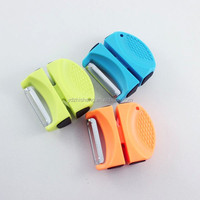 Mini Knife sharpener with peeler