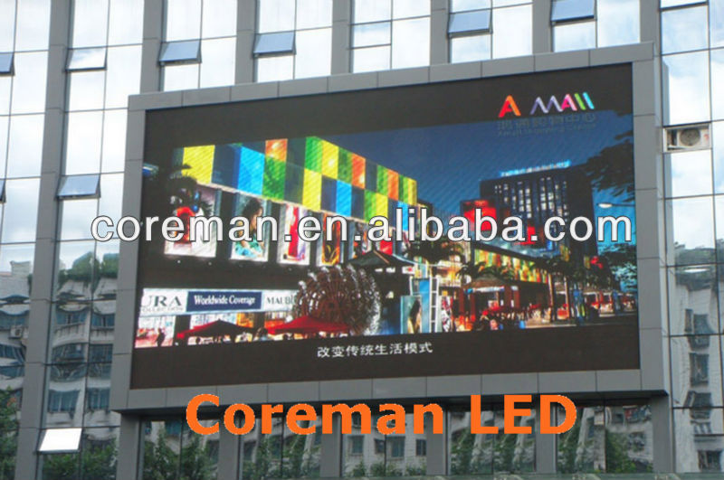 Coreman score board stadium led screen p10 stadium sport led display/stadium score led board/ p16 p20 led screen