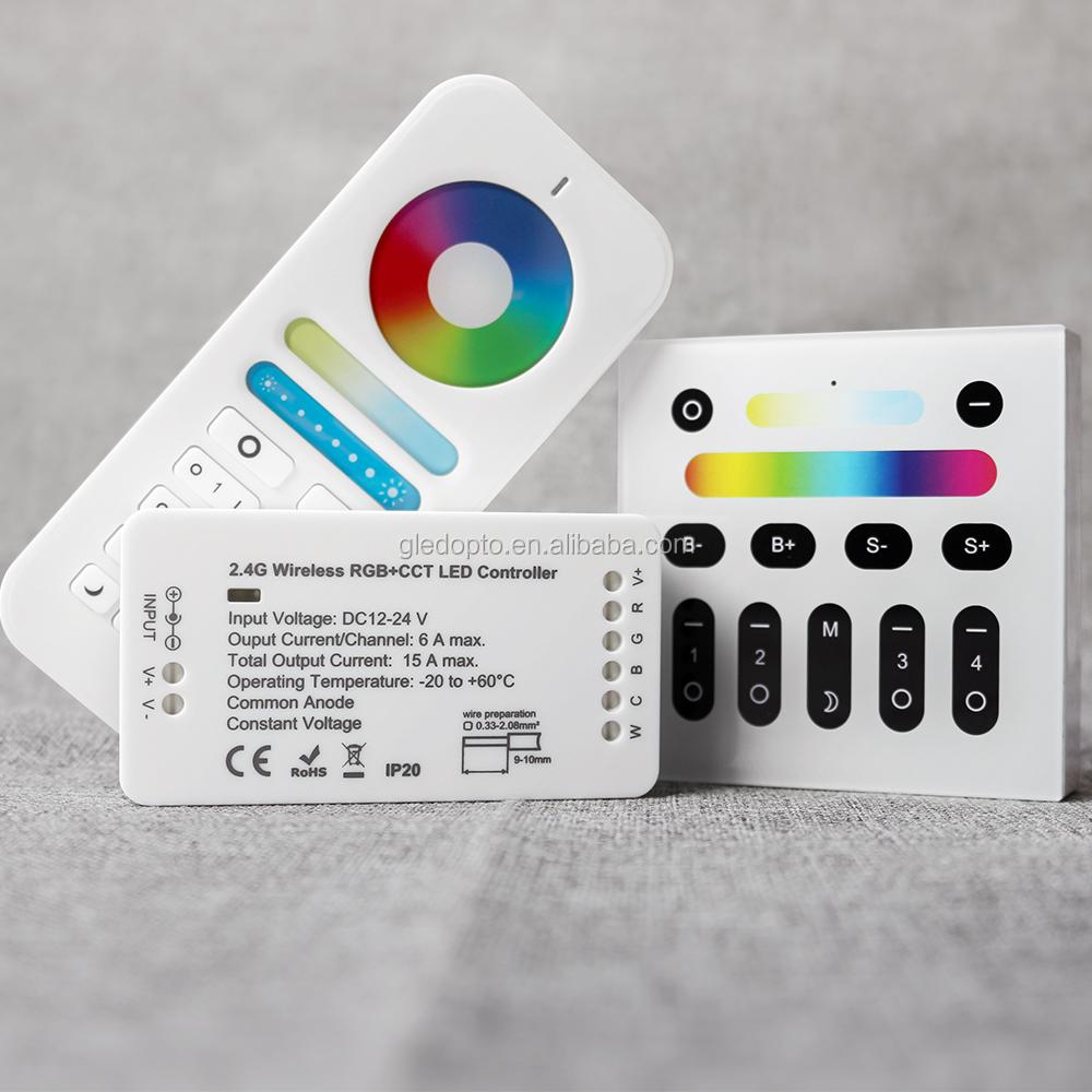 quality design d5ca8 14135 Gledopto Rgb+cct Rgbw Led Strip Controller Driver 12v 6-zone Remote Dimmer  Rgbw Led Controller - Buy Rgbw Led Controller,Rgbw Led Strip ...
