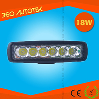 SUV ATV automobile 18w flexible arm led gooseneck work light