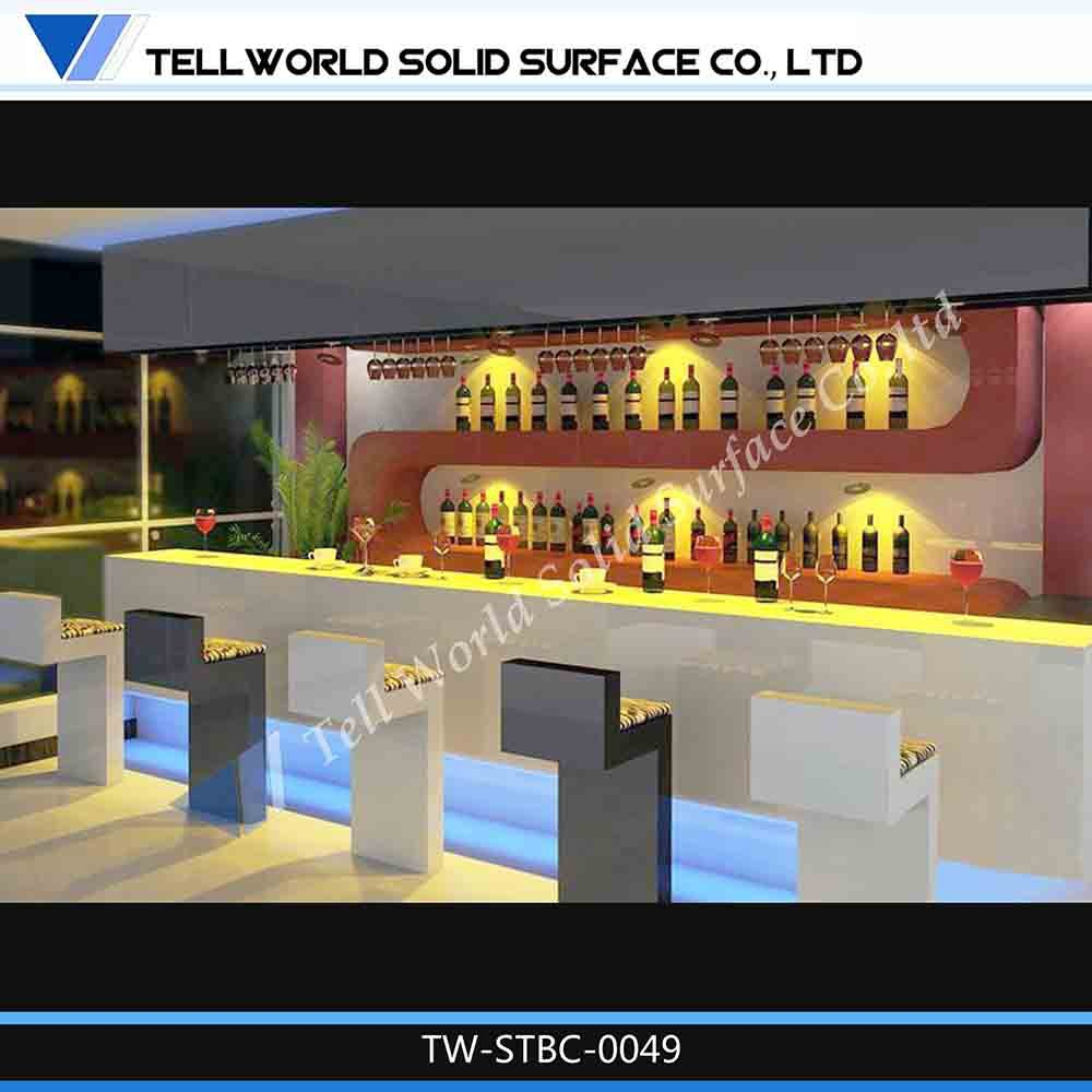 Antique Bar Table Design Led Home Bars With Back Wall Cabinets Product On Alibaba