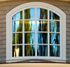new custom designs elegant carbon steel material exterior fixed windows with cross T bar and high quality Lowe glass