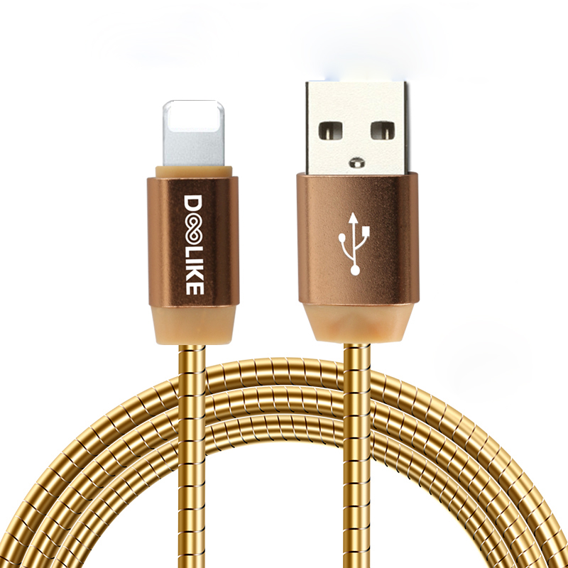 New arrivals 2018 fast charging USB cable,Flat spring cable 30cm ,1.5m , 2m USB data cable for samsung for Iphone
