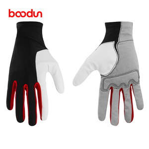 high quality padded palm neoprene horse riding gloves
