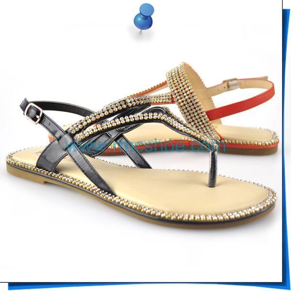 Rmc 2014 New Design Flat Fancy Lady Sandal