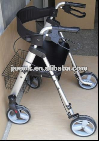 EMS-B508 Aluminum Alloy Medical Rollator Walker