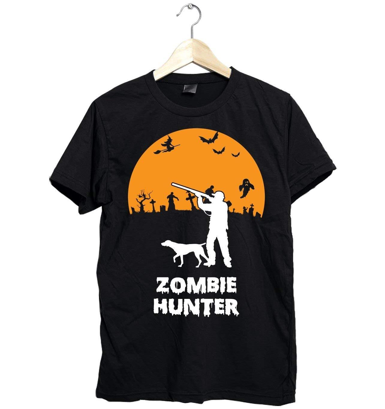 86f5b9db6 Amazing Hunting Shirt Funny For Halloween Zombie Hunter Gifts Fast Shipping  Size Up To 6XL