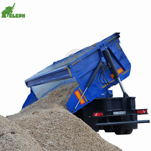 Factory sale low price small side dump trailer lorry tipper truck malaysia