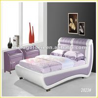 fashion europe style bedroom bed furniture design D2823#