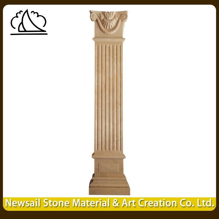 Round Pillar Design For Houses