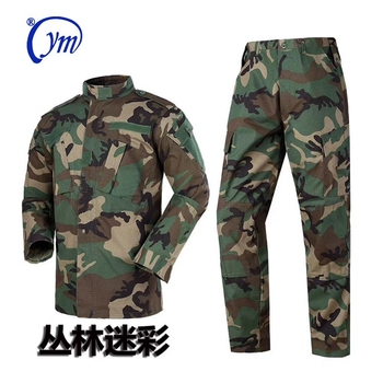Chinese supplier woodland bdu camouflage  army military uniform