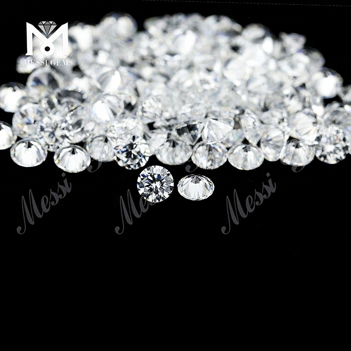 Wholesale Cubic Zirconia Small Round 3.25mm Synthetic AAAAA White CZ Stone for Jewelry Making