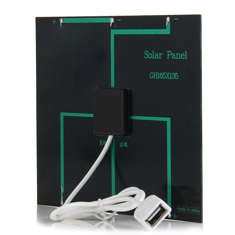 Transportar pequenos painéis solares com você para