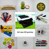 CE approved UV a2 digital printing machine ceramic plate printing machine