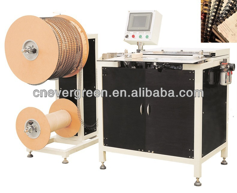 twin coil bind,cheap book binding machine, wiro binding machine
