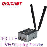 1*HD MI or 1*SDI IN/LOOPOUT Lithium Battery 4G/3G LTE HD Live Streaming Encoder
