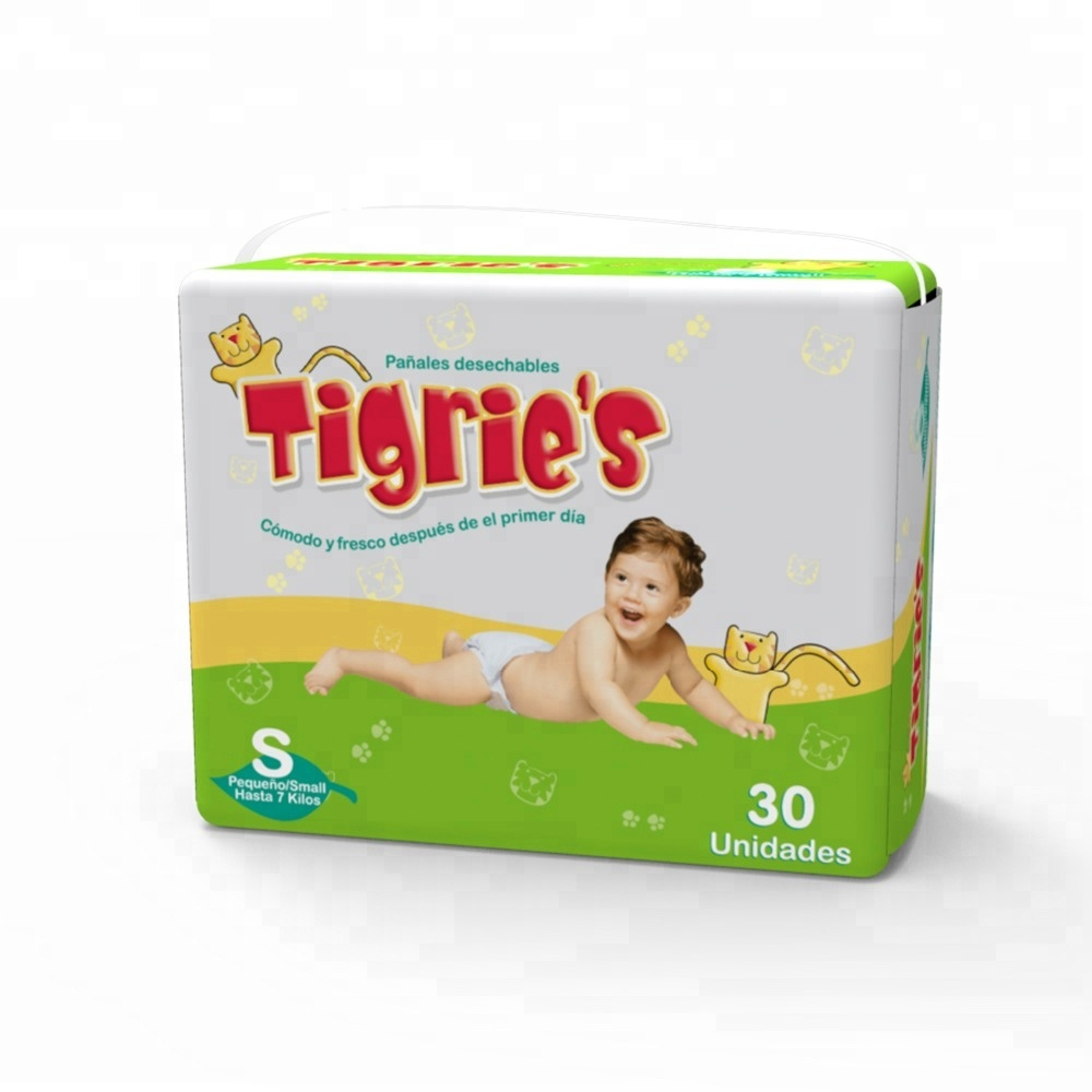 Baron Tigrie's absorption disposable diaper and Bamboo Fabric for Diapers nappy in Good Quality