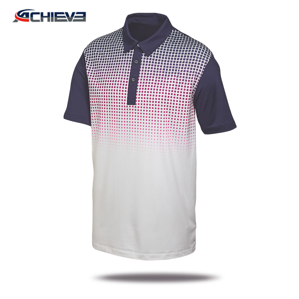 2018 New Design Polo Shirtcustom Unisex Polo Shirts No Minimum