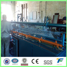 gold factory chain link wire mesh fence making machine