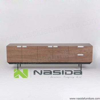 Tv sideboard modern  Nd523 B Pasto Sintetico Modern Walnut Tv Sideboard - Buy Pasto ...