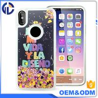 Ultra-thin design Liquid mobile phone case for Iphone 8
