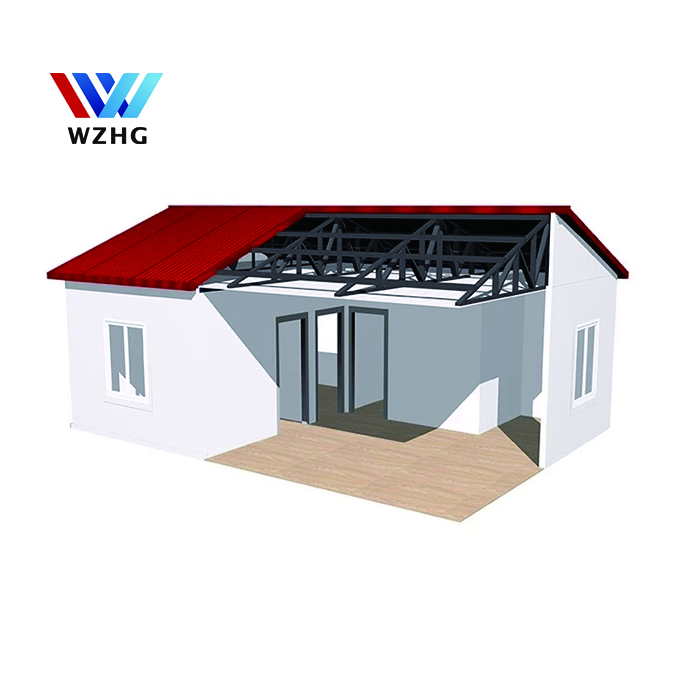 Prefab houses EPS sandwich panel house cheap tinny house made in China