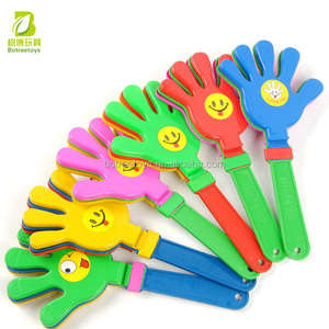 Party Flavor 13cm Clap Hands Promotional Plastic Toy for Kids