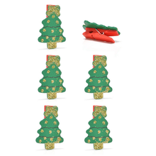 FQ brand item ornament product wooden clip christmas decoration