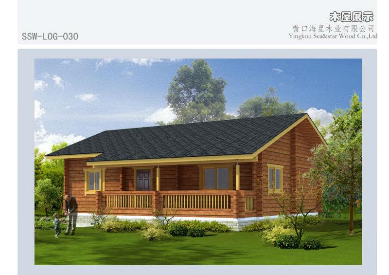 pr fabriqu e maison en bois log 006 maisons pr fabriqu es id de produit 1176046251 french. Black Bedroom Furniture Sets. Home Design Ideas