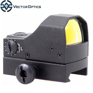 Vector Optics Fury 1x17x25 Hunting Riflescope Electro 3MOA Micro Reflex Sight Red Dot w/ 0.5M Waterproof for AR15 .223 300 12GA