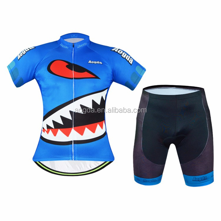 AOGDA New Blue Mountain Bike Clothing For Men Wholesale <strong>Specialized</strong> Cycling Wear Cycling Jersey