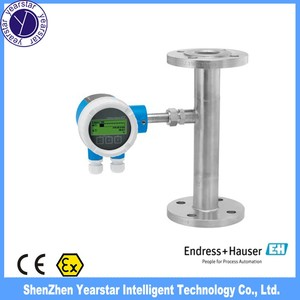 Endress Hauser/ Proline thermal mass compressed air flowmeter A 150/  Thermal industrial gas mass flowmeter