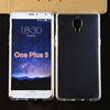 soft transparent clear tpu case for oneplus 3 ultra thin mobile phone tpu case