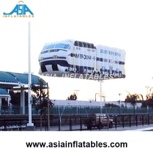 Inflatable Car , Inflatable Floating Car Helium Balloon with Digital Printing for Outdoor Event