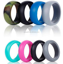 hot sales silicone rubber thumb wedding ring