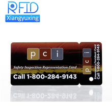 Custom 900mhz rfid card tag ISO 15693 Passive RFID Tag Cheap Printable Papper NFC Card Tag