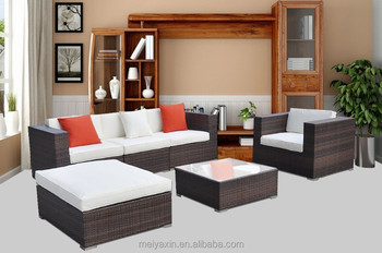 Hot Sell Outdoor Furniture Garden Furniture Rattan Sofa Ms