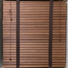 Natural China Manufacturer blackout Wooden Blinds