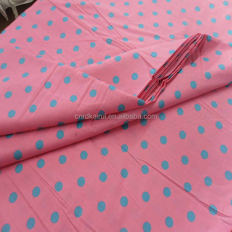 Home textile 100% cotton beautiful Drill Twill printing felt fabric for curtain and bedding set fabric from china manufacturer