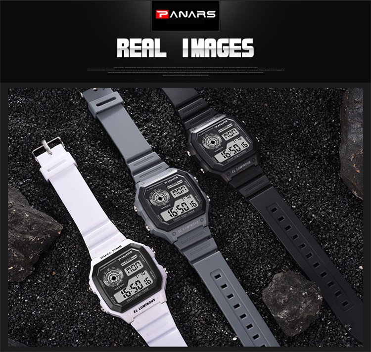 PANARS Sport Watch Brand Relojes Hombre Watches Men Wrist