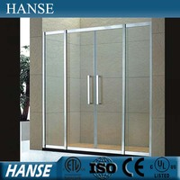 HS-OEM-T australia shower screen sliding door glass frameless and frames