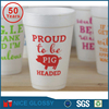 8oz foam cup White Disposable Drink Foam Cups