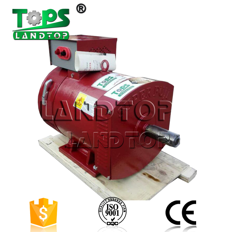 LANDTOP STC brush no fuel electric generator 5kw