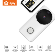 Smart Two Way Intercom Video Peephole Wireless Door Phone IP Wifi Video Doorbell