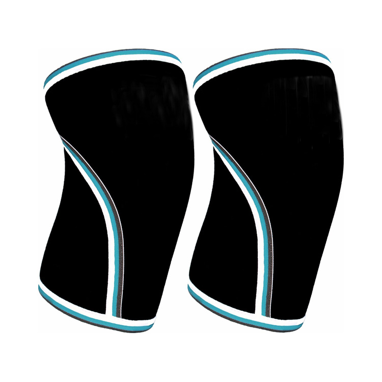 5mm Neoprene Knee Support Brace Sleeve Wraps for Training Competition CrossFit Running