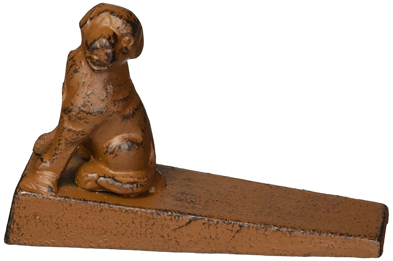 Cast Iron Dog Door Stop, Doorstops (Antique Brown) - Cheap - Antique Dog - Antique Dog Door Stops Antique Furniture