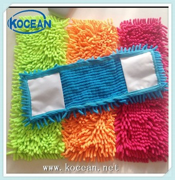 Soft Microfiber Chenille Dust Mop Head For Home Cleaning