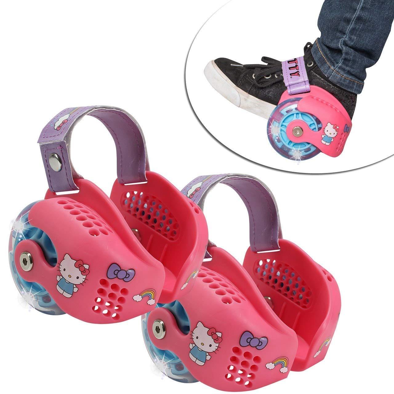 heel wheels skates